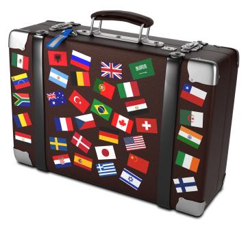 Vocabulario del curso de inglés americano para viajar